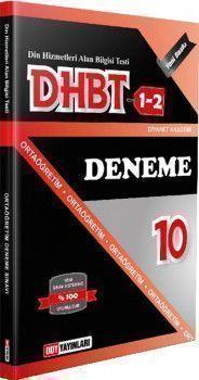 DDY Yayınları DHBT 1 2 Ortaöğretim 10 Deneme