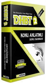 DDY Yayınları DHBT 2 Orta Öğretim Konu Anlatımlı Soru Bankası
