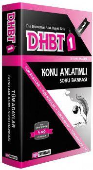 DDY Yayınları DHBT 1 Tüm Adaylar İçin Konu Anlatımlı Soru Bankası