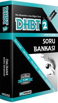 DDY Yayınları DHBT 2 Ön Lisans Soru Bankası