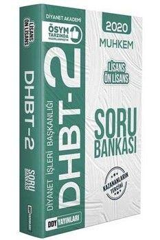 DDY Yayınları DHBT 2 MUHKEM Lisans Ön Lisans Soru Bankası