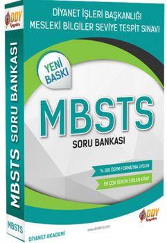 DDY Yayınları Diyanet İşleri Başkanlığı MBSTS Soru Bankası