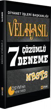 DDY Yayınları MBSTS Velhasıl 7 Çözümlü Deneme