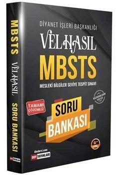 DDY Yayınları MBSTS VELHASIL Soru Bankası Çözümlü