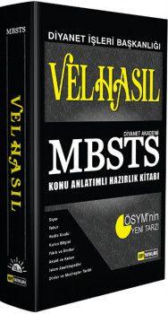 DDY Yayınları MBSTS Velhasıl Konu Anlatımlı Hazırlık Kitabı