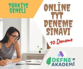 Defne Akademi Türkiye Geneli Online TYT Deneme Paketi