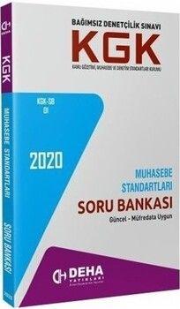 Deha Yayınları KGK Muhasebe Standartları Soru Bankası
