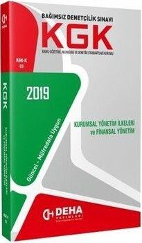 Deha Yayınları KGK Kurumsal Yönetim İlkeleri ve Finansal Yönetim Konu Anlatımlı