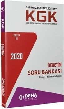 Deha Yayınları KGK Denetim Soru Bankası