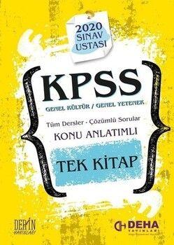 Deha Yayınları KPSS 2020 Genel Yetenek Genel Kültür Sınav Ustası Konu Anlatımlı Soru Bankası
