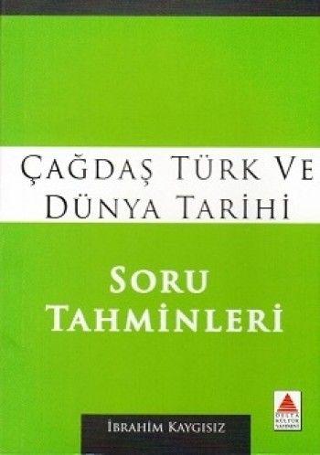 Delta Kültür Çağdaş Türk ve Dünya Tarihi Soru Tahminleri Cep