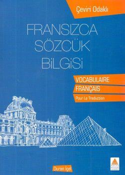 Delta Kültür Fransızca Sözlük Bilgisi