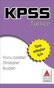 Delta Kültür KPSS Türkçe Strateji Kartları