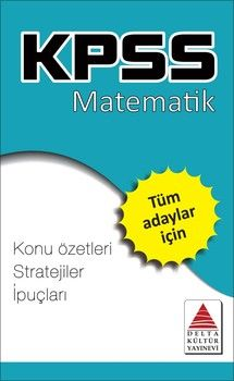 Delta Kültür KPSS Matematik Strateji Kartları