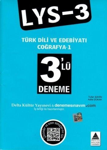 Delta Kültür LYS 3 3\'Lü Deneme