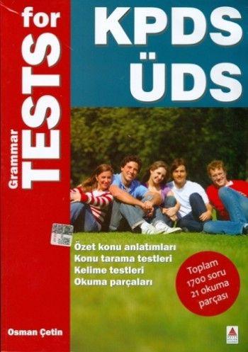 Delta Kültür Yayınevi Grammar Test for KPDS ÜDS
