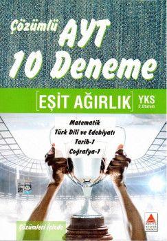 Delta Kültür Yayınları AYT Eşit Ağırlık 10 Deneme