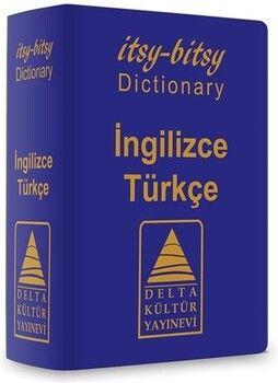 Delta Kültür Yayınevi Itsy Bitsy İngilizce Türkçe Mini Sözlük