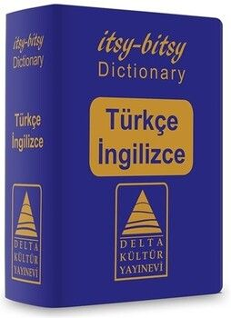 Delta Kültür Yayınevi Itsy Bitsy Türkçe İngilizce Mini Sözlük