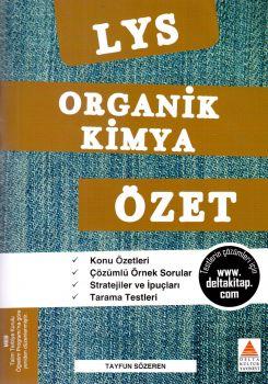Delta Kültür Yayınları LYS Organik Kimya Özet