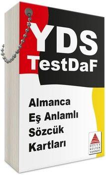 Delta Kültür YDS Almanca Eş Anlamlı Sözcük Kartları