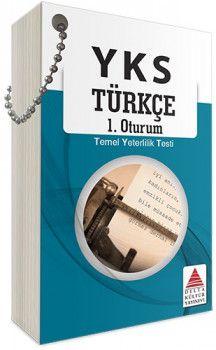 Delta Kültür YKS 1. Oturum TYT Türkçe Kartları