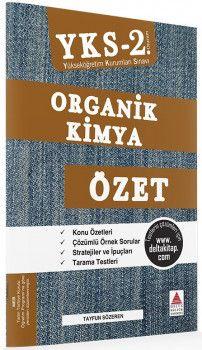 Delta Kültür YKS 2. Oturum Organik Kimya Özet