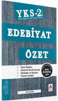 Delta Kültür YKS 2. Oturum Edebiyat Özet