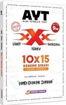 Deneme Zamanı AYT Limit Türev İntegral 10x15 Deneme Sınavı