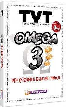 Deneme Zamanı TYT Omega 3 PDF Çözümlü Deneme Sınavı