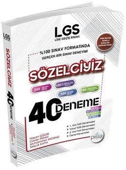 DenemeBank LGS Sözelciyiz Pissa 40 Deneme