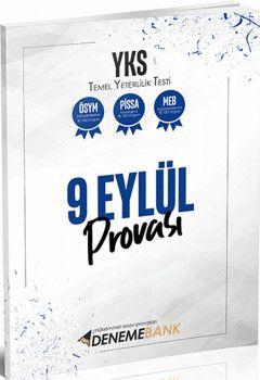 DenemeBank TYT 9 Eylül Provası Deneme Sınavı