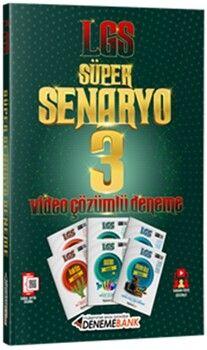 DenemeBankLGS Süper Seneryo 3 Çözüm Kitapçıklı Deneme Sınavı