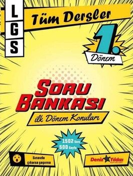 Deniz Yıldızı 8. Sınıf LGS 1. Dönem Tüm Dersler Soru Bankası