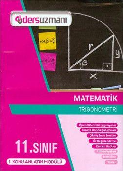 Ders Uzmanı 11. Sınıf Matematik Konu Anlatım Modülleri
