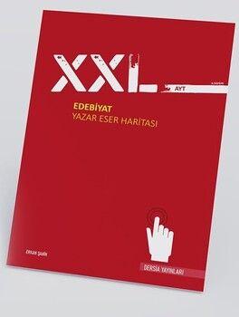 Dersia Yayınları AYT XXL Edebiyat Yazar Eser Haritası