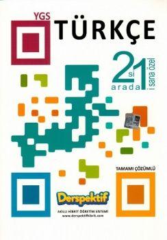 Derspektif Yayınları YGS Türkçe Tamamı Çözümlü Soru Bankası