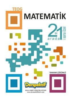 Derspektif Yayınları 8. Sınıf TEOG 2 Matematik 2 si 1 Arada Tamamı Çözümlü Soru Bankası