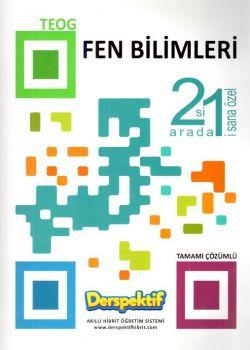Derspektif Yayınları 8. Sınıf TEOG Fen Bilimleri 2 si 1 Arada Tamamı Çözümlü Soru Bankası