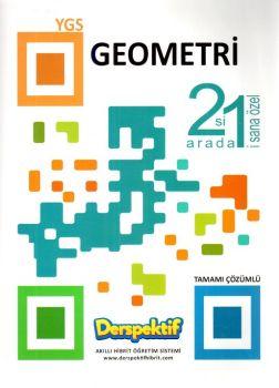Derspektif Yayınları YGS Geometri 2 si 1 Arada Tamamı Çözümlü Soru Bankası
