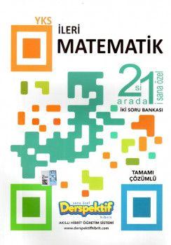Derspektif Yayınları YKS 2. Oturum İleri Matematik 2 si 1 Arada Tamamı Çözümlü Soru Bankası