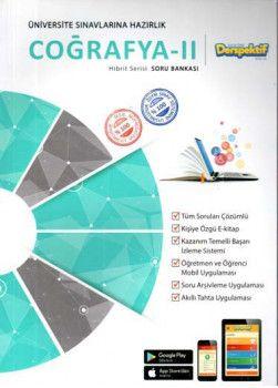 Derspektif YayınlarıÜniversite Sınavlarına Hazırlık Coğrafya 2 Hibbit Serisi Soru Bankası