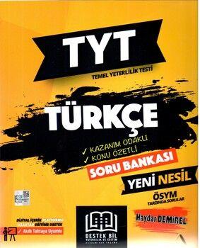 Destek Bil Yayınları TYT Türkçe Kazanım Odaklı Konu Özetli Soru Bankası