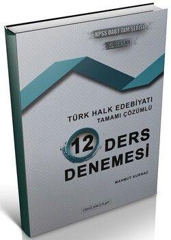 Destek Kariyer 2020 ÖABT Türk Dili Edebiyatı Türk Halk Edebiyatı 12 Deneme Çözümlü