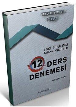 Destek Kariyer 2021 ÖABT Türk Dili Edebiyatı Eski Türk Dili 12 Deneme Çözümlü