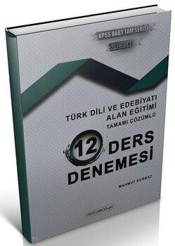 Destek Kariyer 2021 ÖABT Türk Dili Edebiyatı Alan Eğitimi 12 Deneme Çözümlü