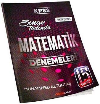 Destek Kariyer KPSS Matematik Sınav Tadında Tamamı Çözümlü 15 Deneme