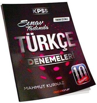 Destek Kariyer KPSS Türkçe Sınav Tadında Tamamı Çözümlü 10 Deneme