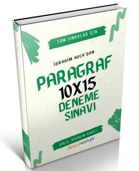 Destek Kariyer Tüm Sınavlar İçin Paragraf 10 x 15 Deneme Sınavı