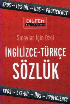 Dilfem Yayınları İngilizce Türkçe Sözlük